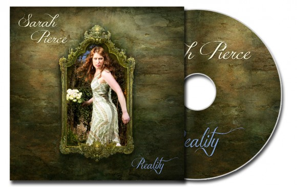 "Sarah Pierce ""Reality"" CD cover photo"